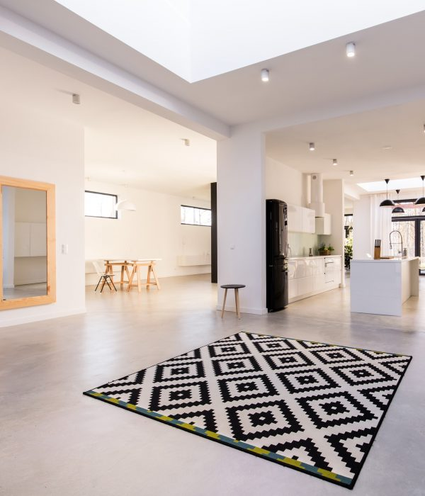 Open character of modern interior